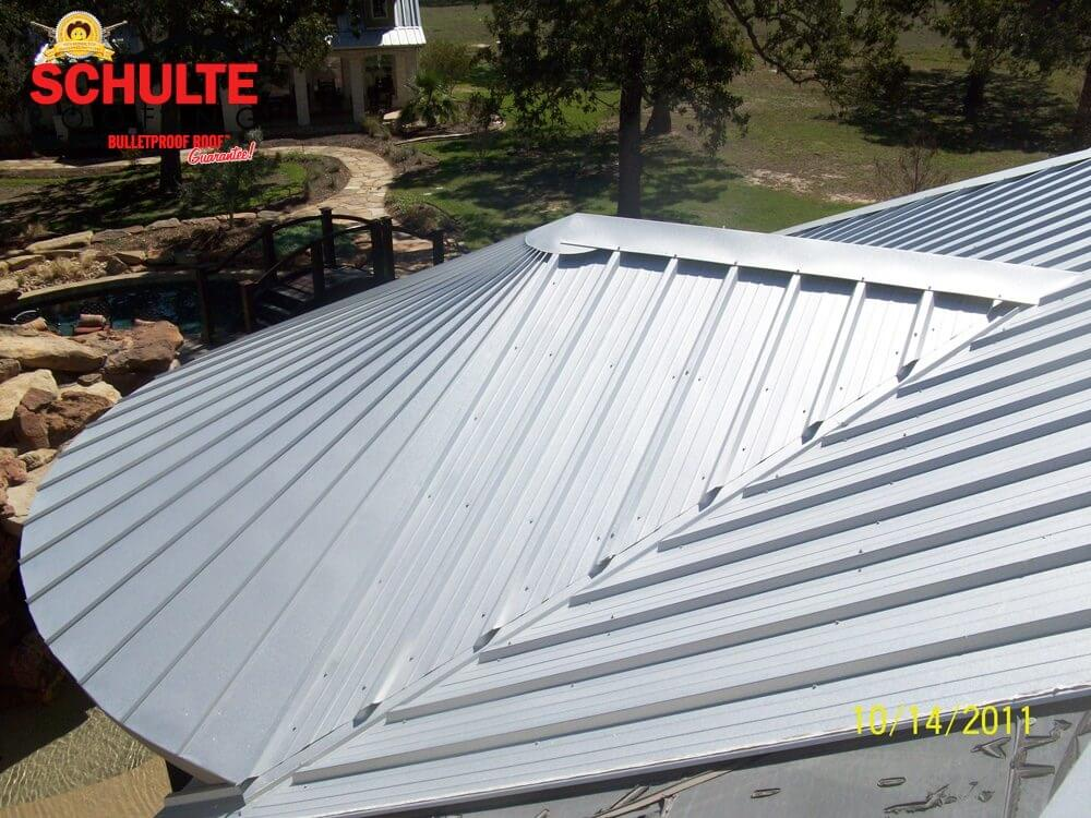 How Loud Is A Metal Roof Schulte Roofing