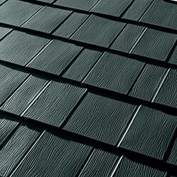 Schulte Roofina a College Station Roofing - Metal Shingles MetalWorks® AstonWood® Forest Green by TAMKO