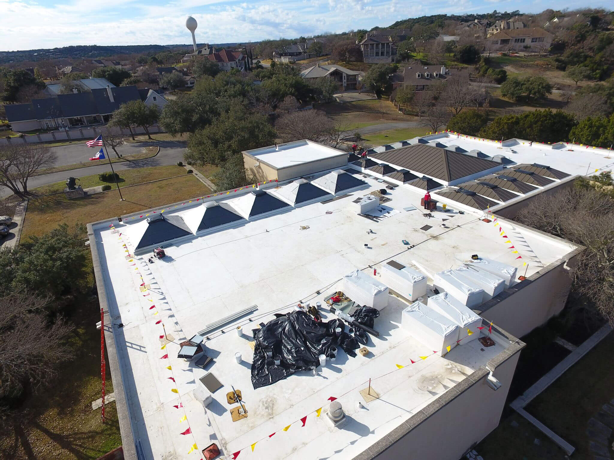 How Roofers Can Use Drones