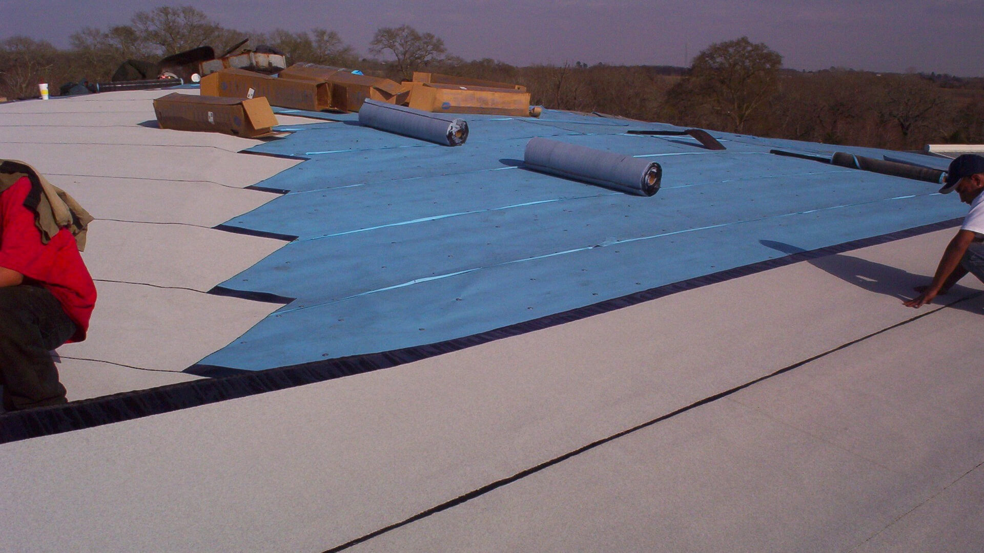 Modified Bitument Roof - Schulte Roofing