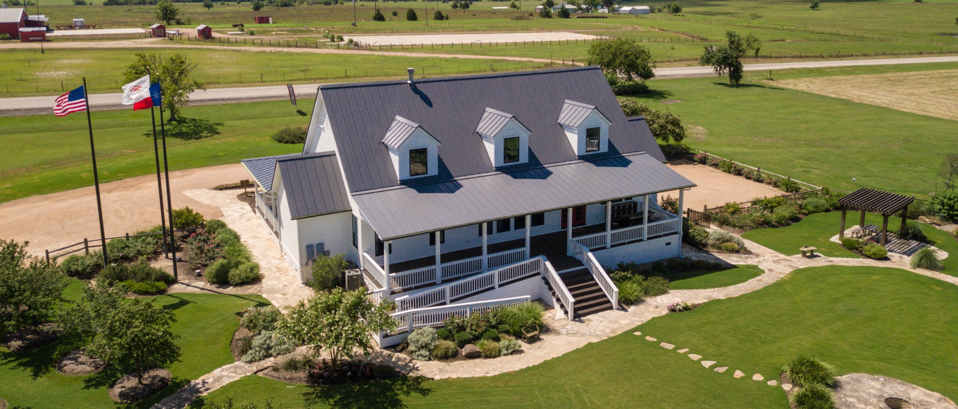 Texas Casual Cottages - Schulte Roofing