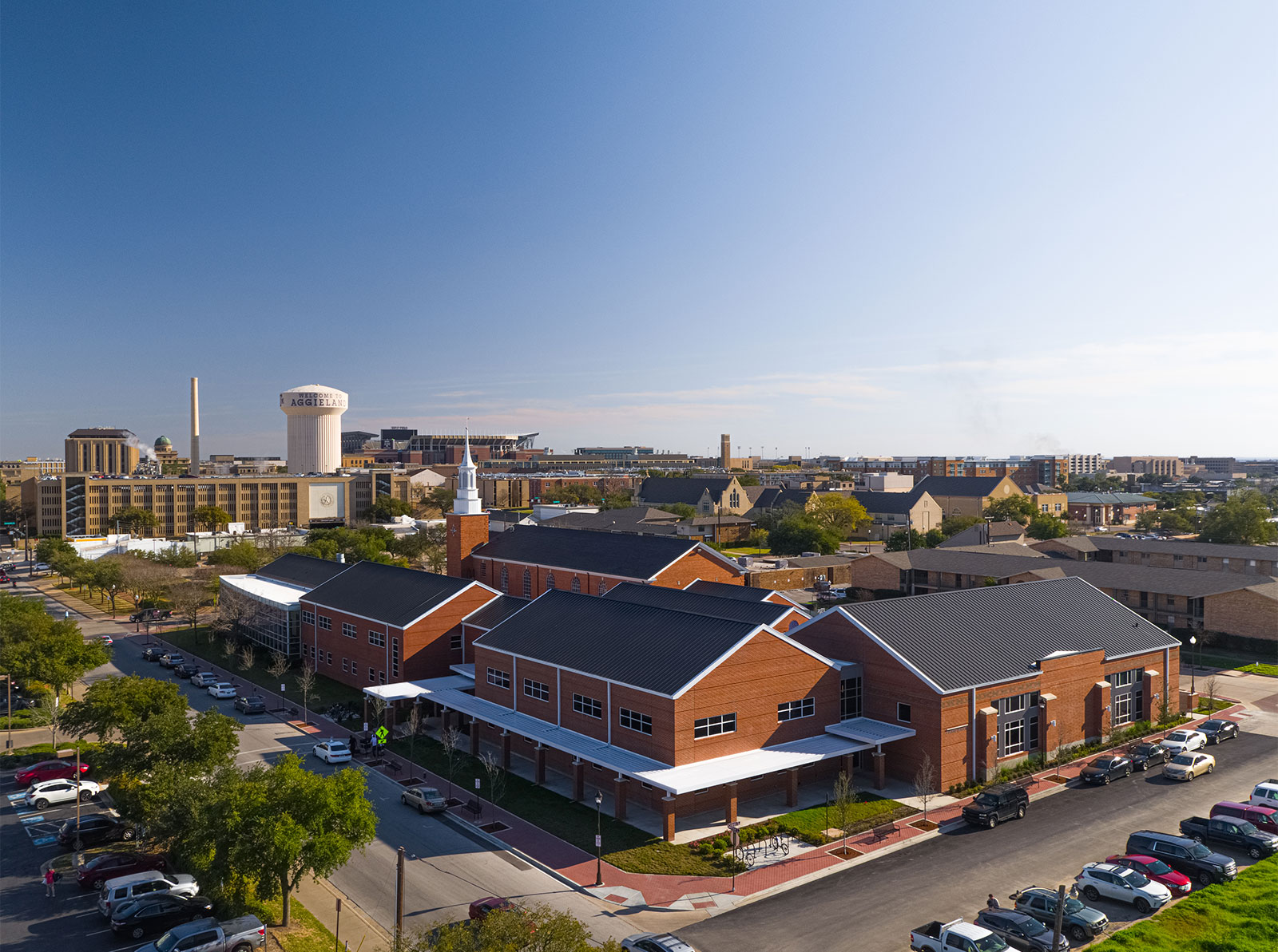 St. Marys Catholic Center - Ludowici Clay Tiles - Schulte Roofing®