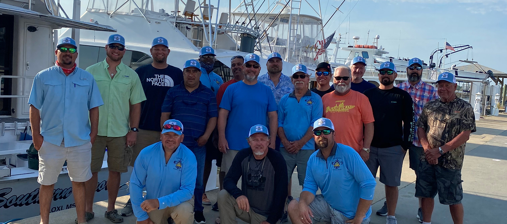 Schulte Roofing Company Fishing Trip